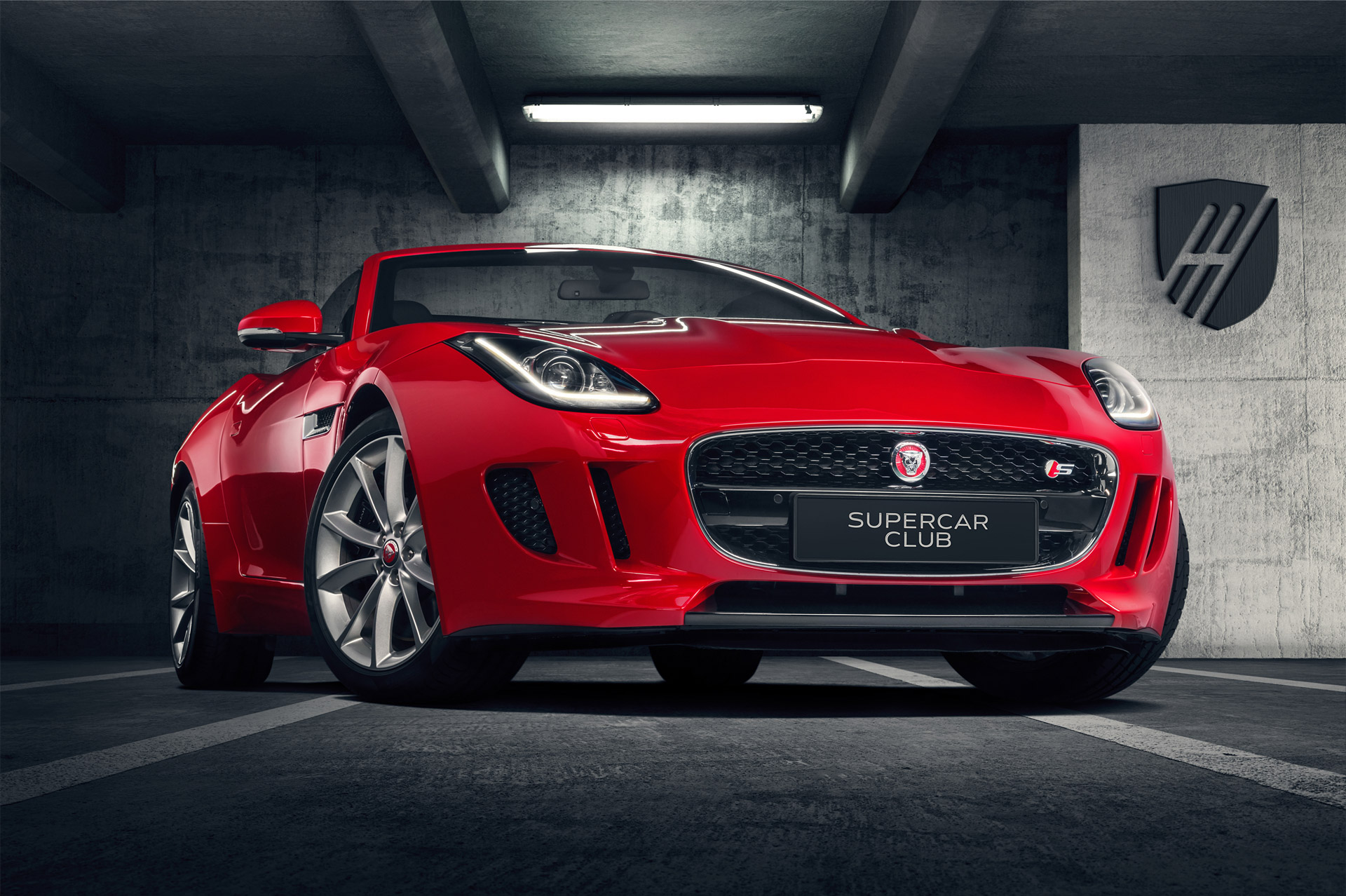 jaguar f type s cabrio supercar club poland. Black Bedroom Furniture Sets. Home Design Ideas